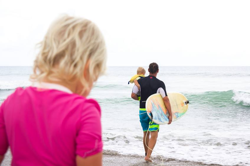 the Crystal Coast is a great place for kids to learn to surf