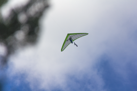 Hanggliding in Beaufort, NC
