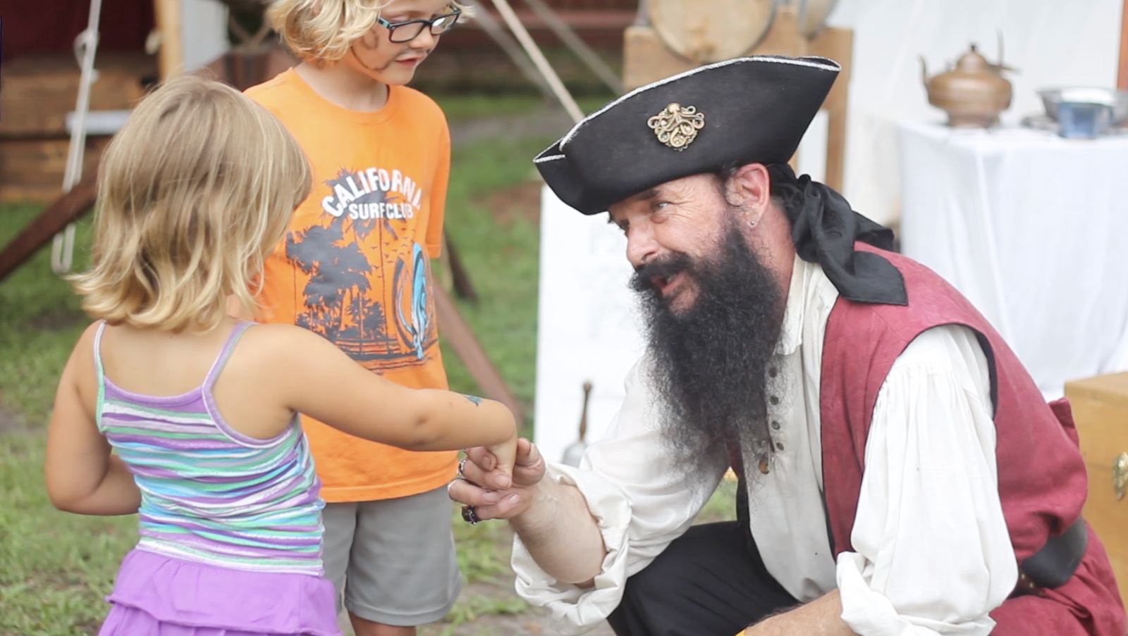 The annual Beaufort Pirate Invasion is great for families